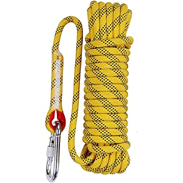 mini Aoneky 12 mm Static Outdoor Rock Climbing Rope