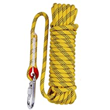 Aoneky 12 mm Static Outdoor Rock Climbing Rope
