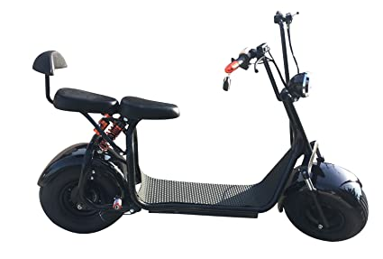 SABWAY® Patinete ELÉCTRICO Chopper | Scooter 1000W Brushless: Amazon.es: Deportes y aire libre