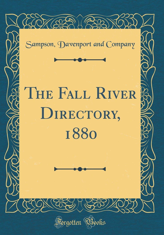 Download The Fall River Directory, 1880 (Classic Reprint) ebook