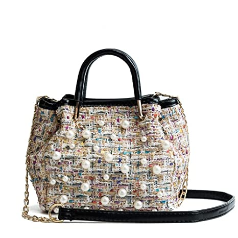 2c4bfeceb40f Amazon.com: XLMLJYX New Handbags Women's Designer Bucket Crossbody ...