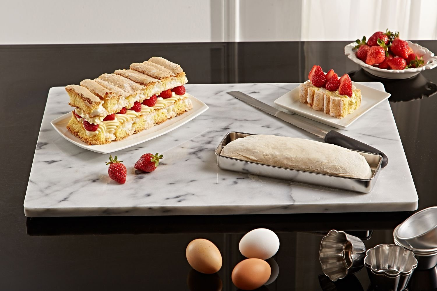 Marble Pastry Board