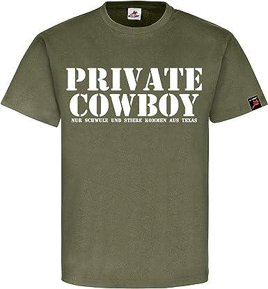 Privado Cowboy solo schwule y toros provienen de Texas FUN Humor Diversión – Camiseta # 1209: Amazon.es: Ropa y accesorios