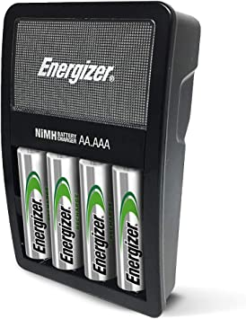 Recharge Power Plus with 4 AA NiMH Rechargeable Batteries /& NH15BP-8 Rechargeable AA Batteries Pre-Charged Recharge Value 8 Count Energizer Rechargeable AA and AAA Battery Charger 2300 mAh