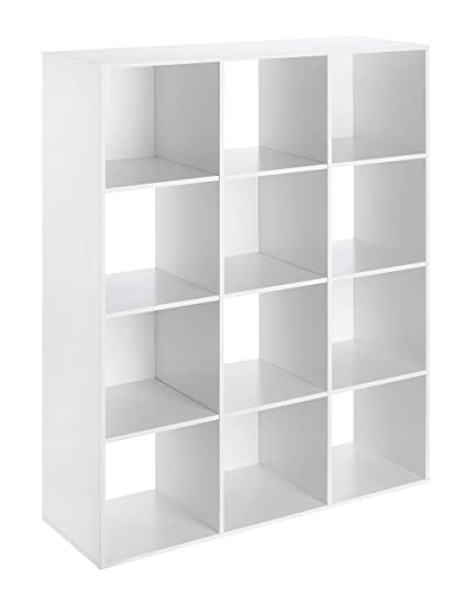 5d52136be222 Whitmor Cube Organizer, White