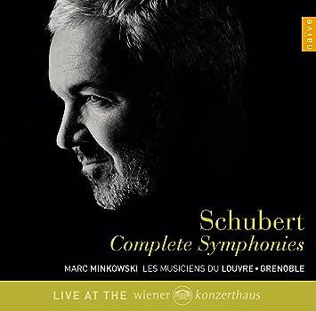 シューベルト : 交響曲全集 (Schubert : Complete Symphonies / Marc Minkowski, Les Musiciens Du Louvre ・ Grenoble) (4CD) [輸入盤・日本語解説書付]