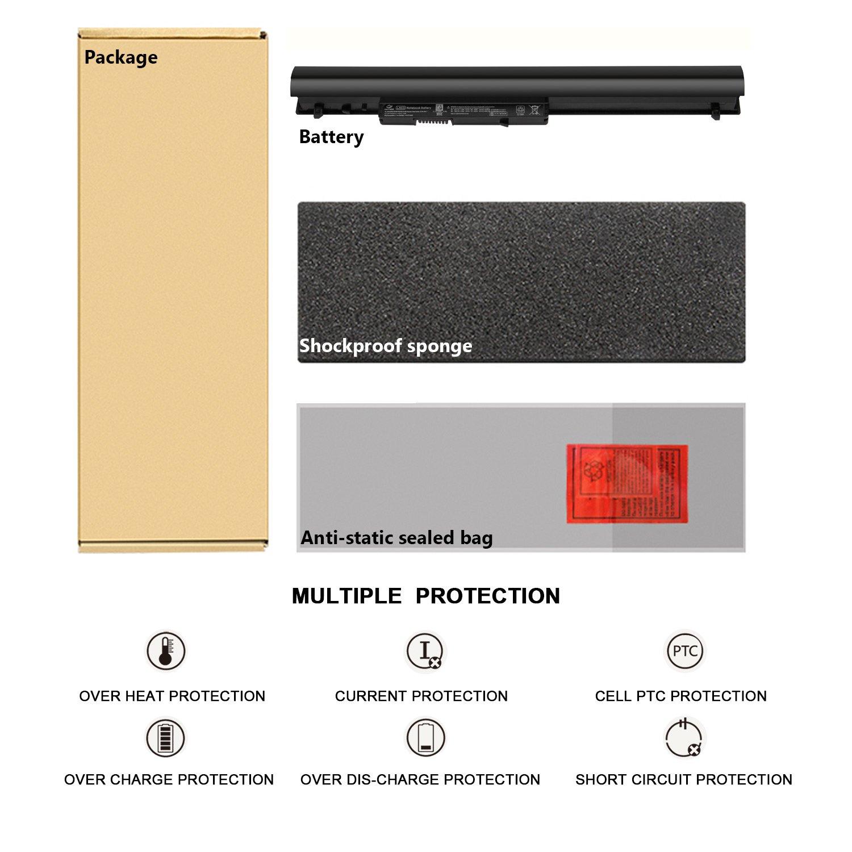 ANTIEE Compatible LA03 Laptop Battery Replacement for HP 15-F 14-Y Series Notebook fit LA03DF LA03031DF 776622-001 775625-221 775625-141 HSTNN-DB6N HSTNN-IB6R 775625-121 11.1V 31Wh 2612mAh li-ion