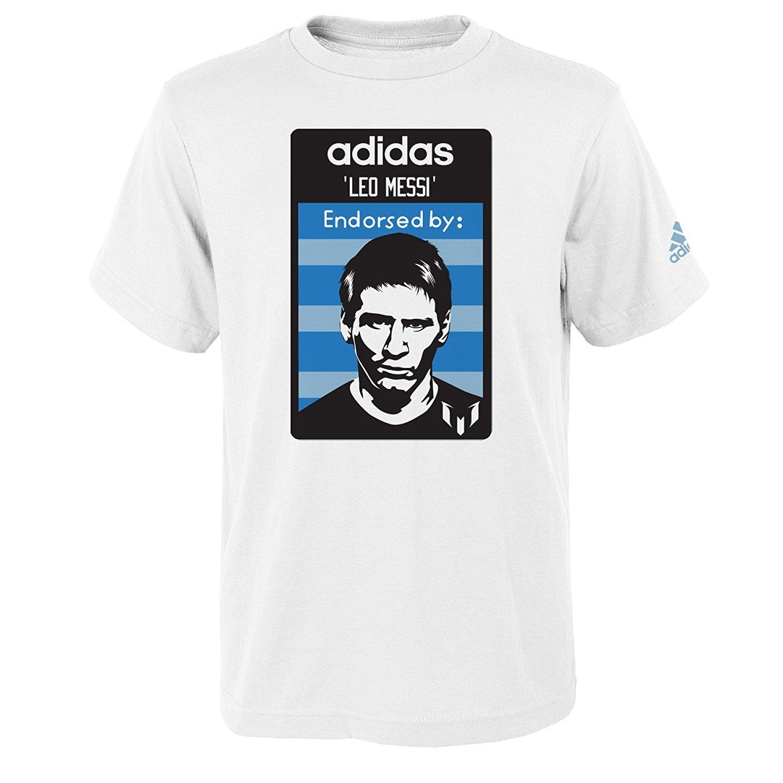 6e89cbe5d Adidas lionel messi youth player endorsement white performance shirt  clothing jpg 1500x1500 Adidas messi shirt
