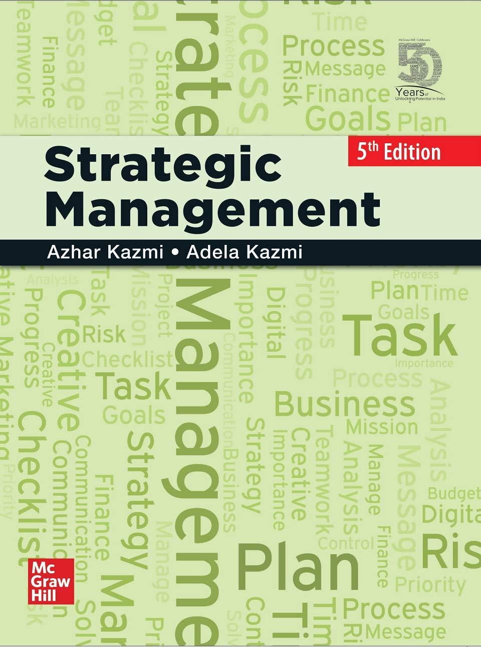 Strategic Management | Fifth Edition
