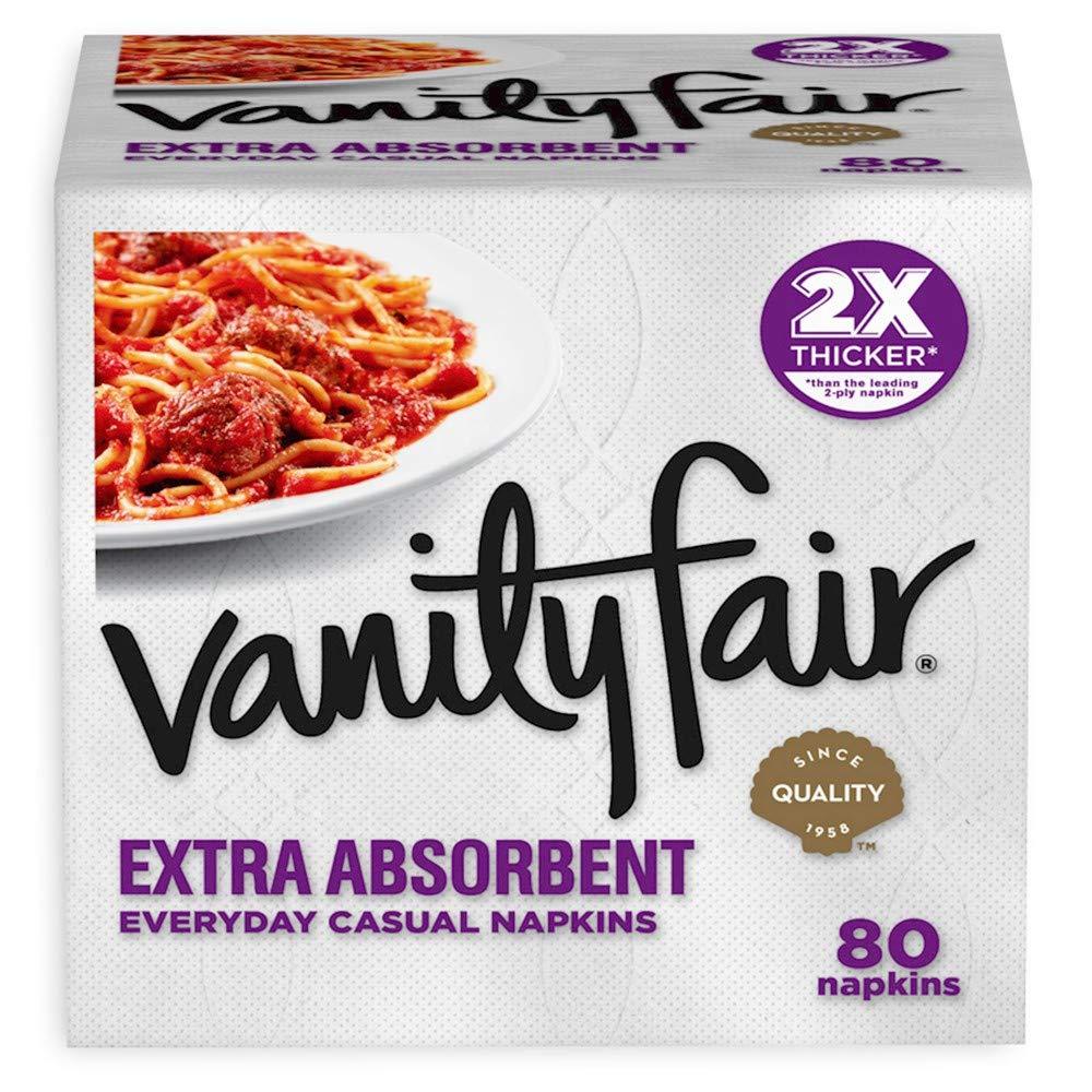Vanity Fair extra absorbent napkins