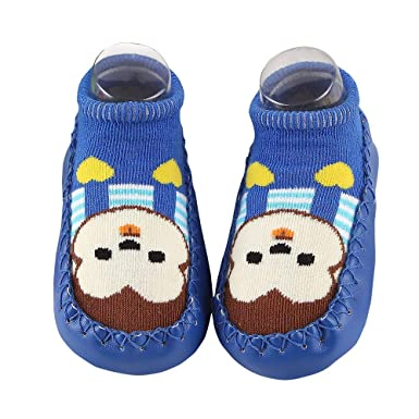 VEKDONE Baby Slipper Socks Animal Infants Toddler Indoor Floor Anti-skid Warm