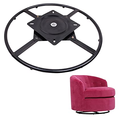 ECLV 360 Degrees Rotate Swivel Round Chair Recliner Base Bracket Couch  Mechanism Bottom Plate Hinge Hardware