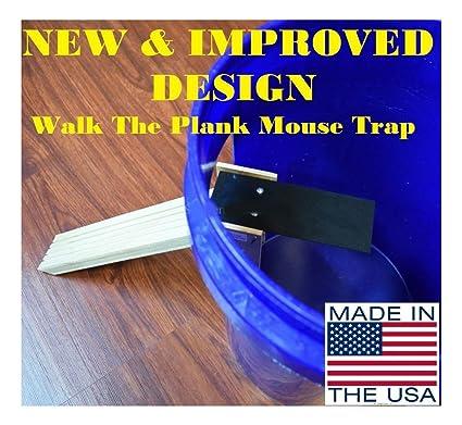 Amazon.com: Nuevo y mejorado Walk The Plank trampa de mouse ...