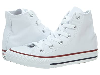 Image Unavailable. Image not available for. Color  Converse All Star Hi Optical  White Youth Kids Shoes Boys Girls ... 2572e8201