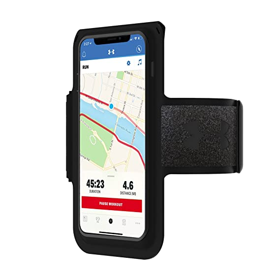 best authentic 3f350 71d20 Under Armour UA Supervent Armband for iPhone Xs, iPhone X, iPhone XR - Black