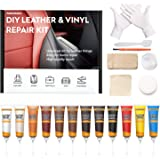 NADAMOO Leather Repair Kit for Couches, Vinyl Repair Kit for Furniture, Car Seats, Sofa, Jacket, Purse, Belt, Shoes…
