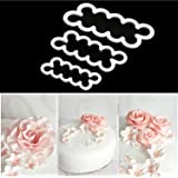 KOOTIPS The Perfect Rose Ever Cutter / Cake Decorating Gumpaste Flowers Rose Ever Cutter Cookie Cutters Set of 3