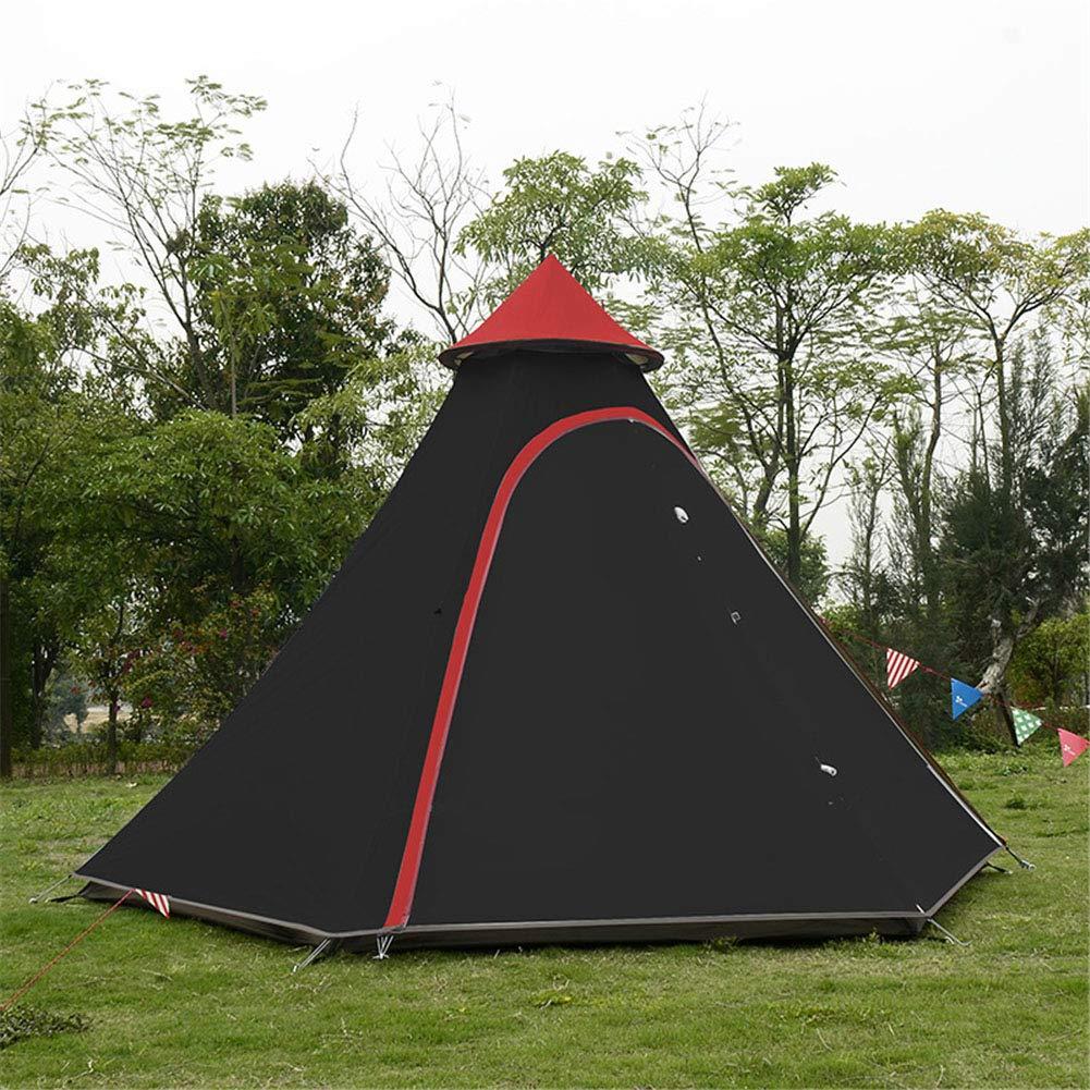 Zelt, 3-4 Person 3-4 Staffel Leichtgewicht Aluminium Pole Camping Zelt wasserdicht Windproof Pergola (350  300  200cm)