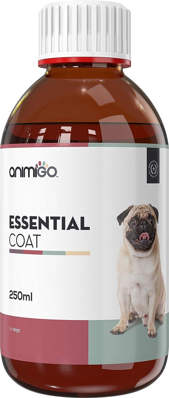 Animigo Essential Coat para Perros. Fórmula Líquida Natural para la Piel y el Pelaje 250ml: Amazon.es: Productos para mascotas