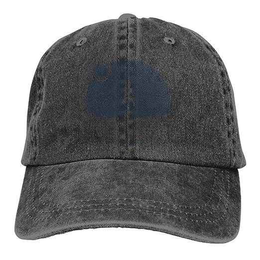 e0f9dd56eaccc Amazon.com  Huayaa Cowboy Hat More Space Denim Skull Cap Baseball Cowgirl  Sport Hats for Men Women  Clothing