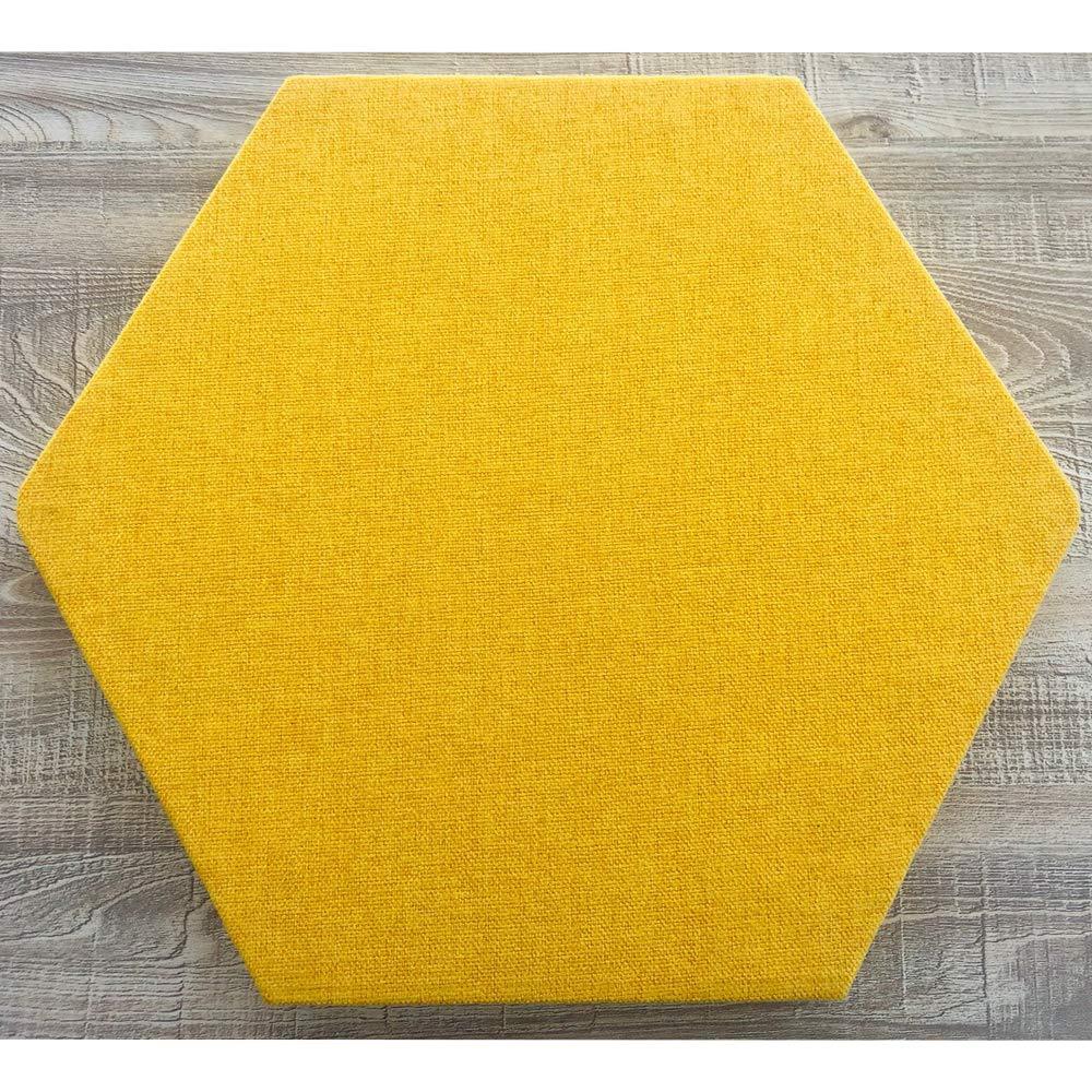 33 x 28,6 x 1,2 cm ANTEVIA/® Panneau acoustique hexagone /épaisseur 12mm Vert Clair