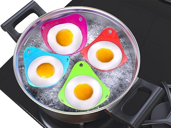 Escalfador de huevos (4 unidades), diseño de Escalfar Huevos ...