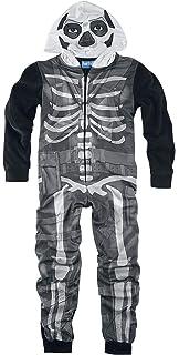 fortnite - Pijama para niño Negro 10 años: Amazon.es: Ropa y ...