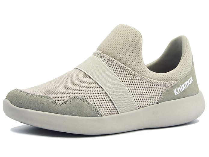 Zapatillas Knixmax sin cordones, tela exterior de malla. Desde 19 €.