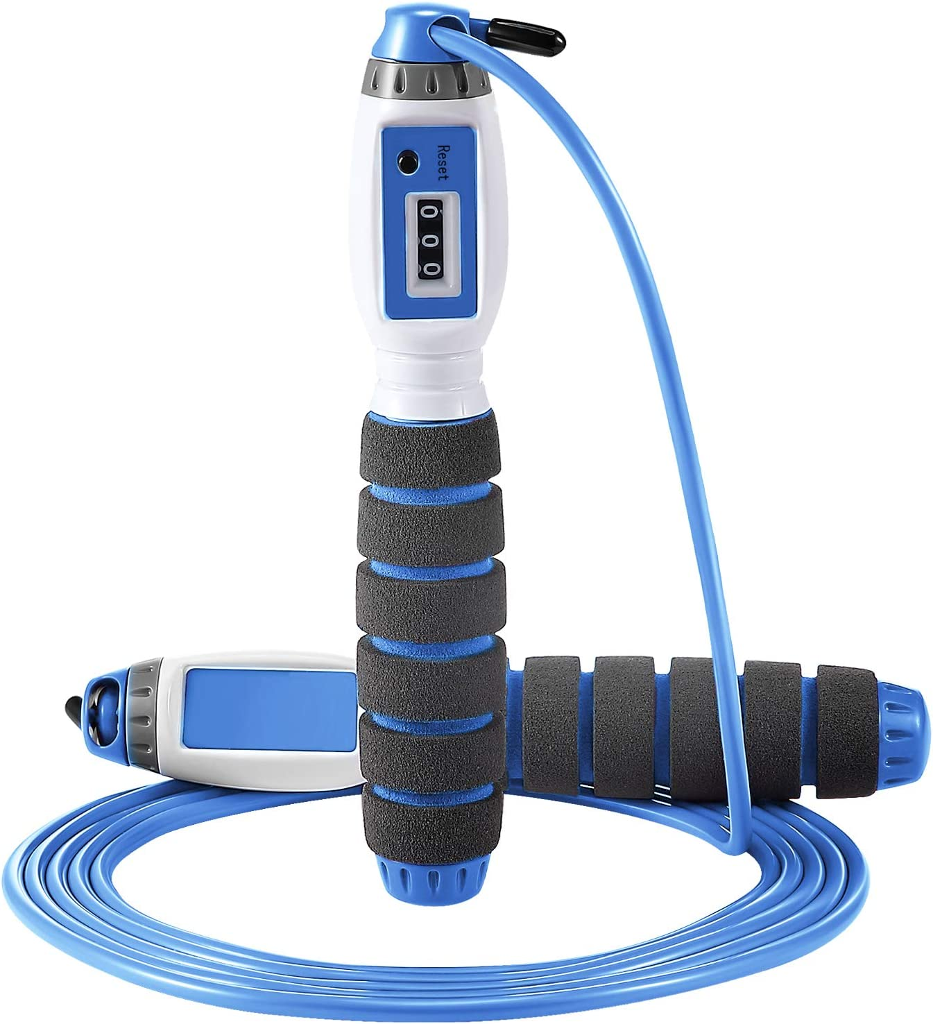 Skipping Rope Adults//Kids Exercise Counting Jumping Game Fitness Adjustable
