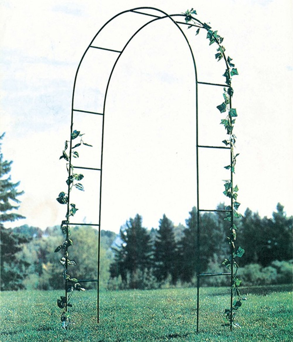 Mallofusa Metal Army Green Wedding Garden Arch Bridal Party Decoration Archway Arbor