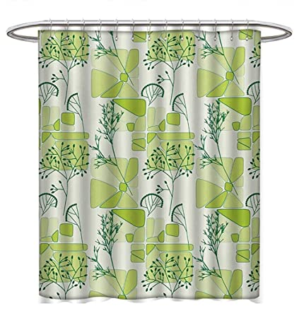 Anhuthree Retro Shower Curtains With Hooks Artsy Commercial Design Of Vintage Truck Coffee Grinder