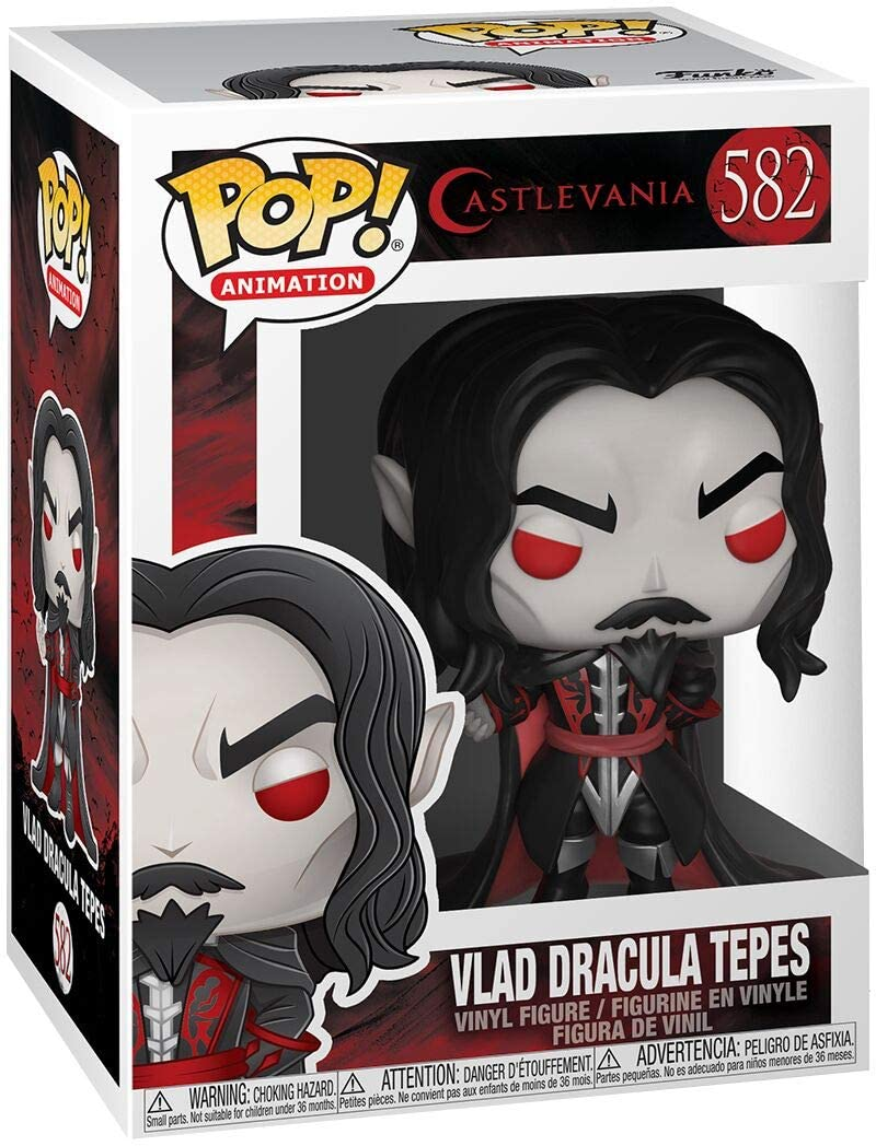 Pop Vinilo Vlad Dracula Tepes Figura Coleccionable, Funko 38550 Castlevania