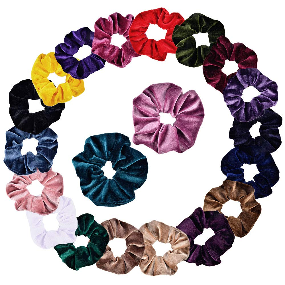 Back To Search Resultsapparel Accessories Symbol Of The Brand 1 Pcs Women Solid Reflect Light Elastic Hair Bands Ponytail Holder Scrunchies Lady Hair Accessories Excellent Quality