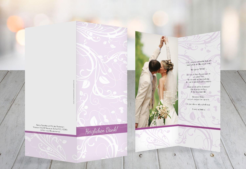 Kartenparadies Danksagung für Hochzeitsgeschenke Hochzeit Dankeskarte Blättertraum, hochwertige Danksagungskarte Danksagungskarte Danksagungskarte Hochzeitsglückwünsche inklusive Umschläge   10 Karten - (Format  105x215 mm) Farbe  RosaRosa B01MR8K2BZ | Mittlere Ko 39affc