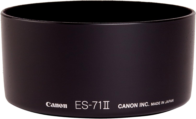 Canon ES-71II negro Parasol para objetivos EF 50mm f//1.4 USM Hoya 58 mm HMC Haze UV /€/‹/€/‹- Filtro ultravioleta