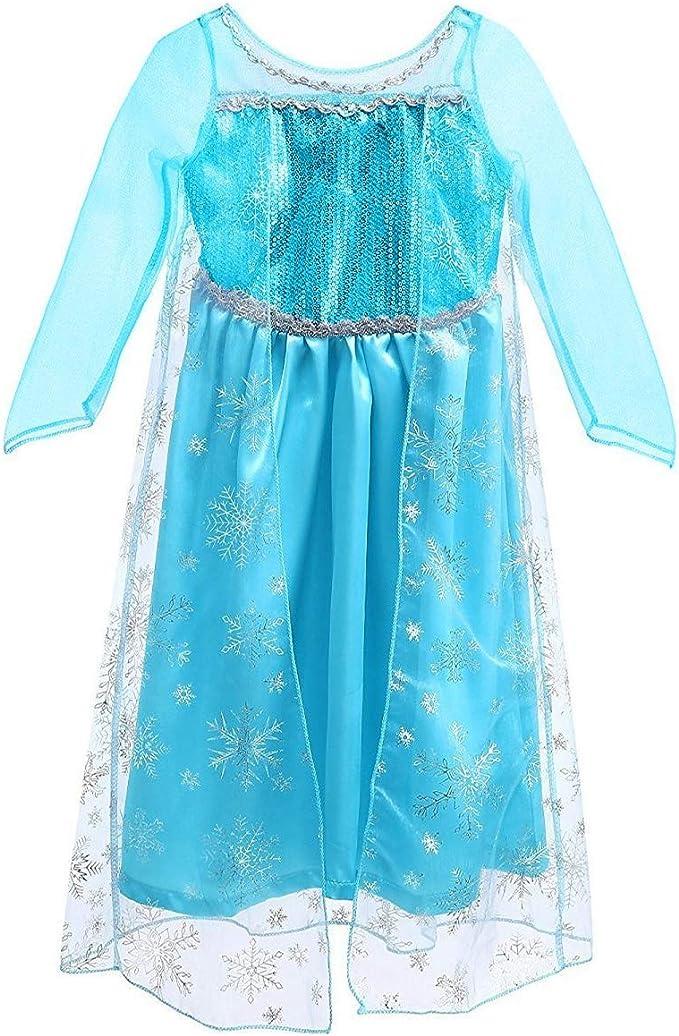 Disfraz de Princesa para niña para Halloween, Navidad, Día del ...