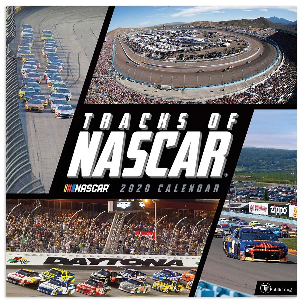 2020 Tracks of NASCAR Wall Calendar: TF Publishing, TF Publishing