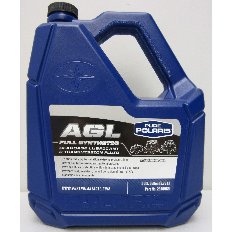 Polaris AGL Plus Synthetic Gearcase Oil Lube Lubricant/Transmission Fluid Gallon 4333033021