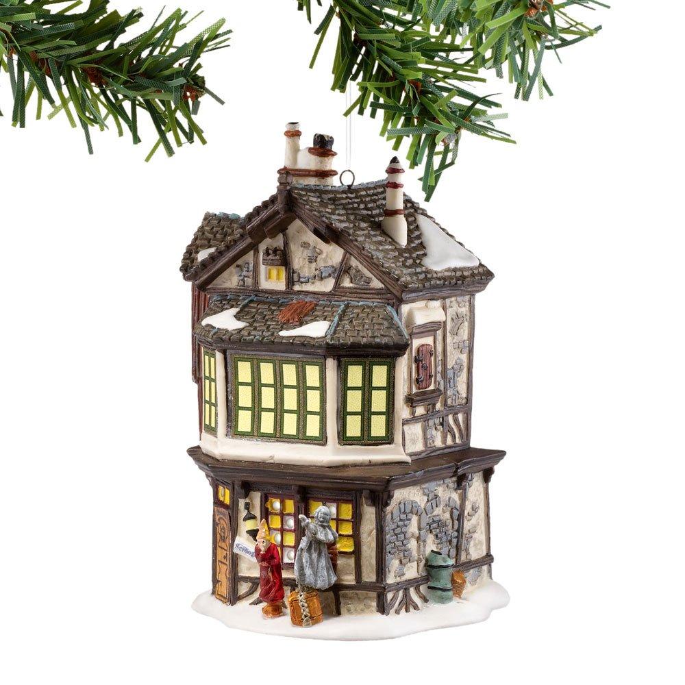 Department 56 Dickens A Christmas Carol Village Ebenezer Scrooge's Mini House