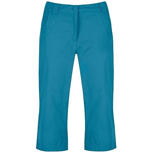Regatta Womens/Ladies Maakia Poly-Cotton Soft Touch Capri Pants