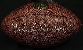 Herb Adderley NFL Hof Packers Autographed Signed Wilson Football  Memorabilia JSA P31869 fbb399e38