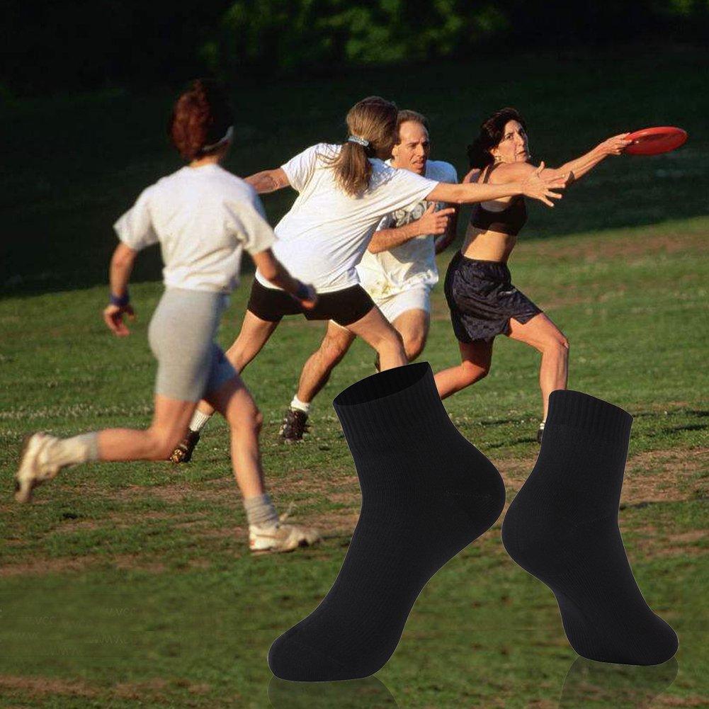Waterproof Socks, RANDY SUN Unisex Cycling Mid-Calf//Ankle Sock Size XS-L SGS Certified