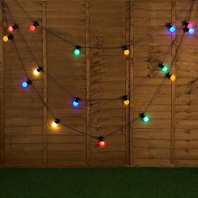 Bulb String Lights, VSOAIR 20 LED 13M G50 Festoon Lights