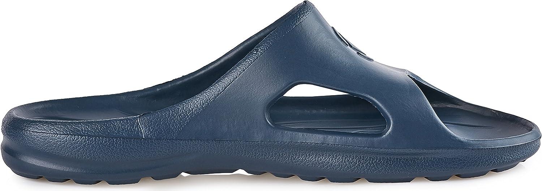 Bleu Marine, 37 EU Ladeheid EVA Sandales Claquette Femme KL039D
