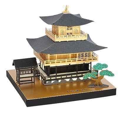 amazon com paper nano kyoto temple building kit toys games