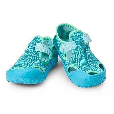Nike Unisex-Kinder Sunray Protect (Td) Dusch-& Badeschuhe, Blau (