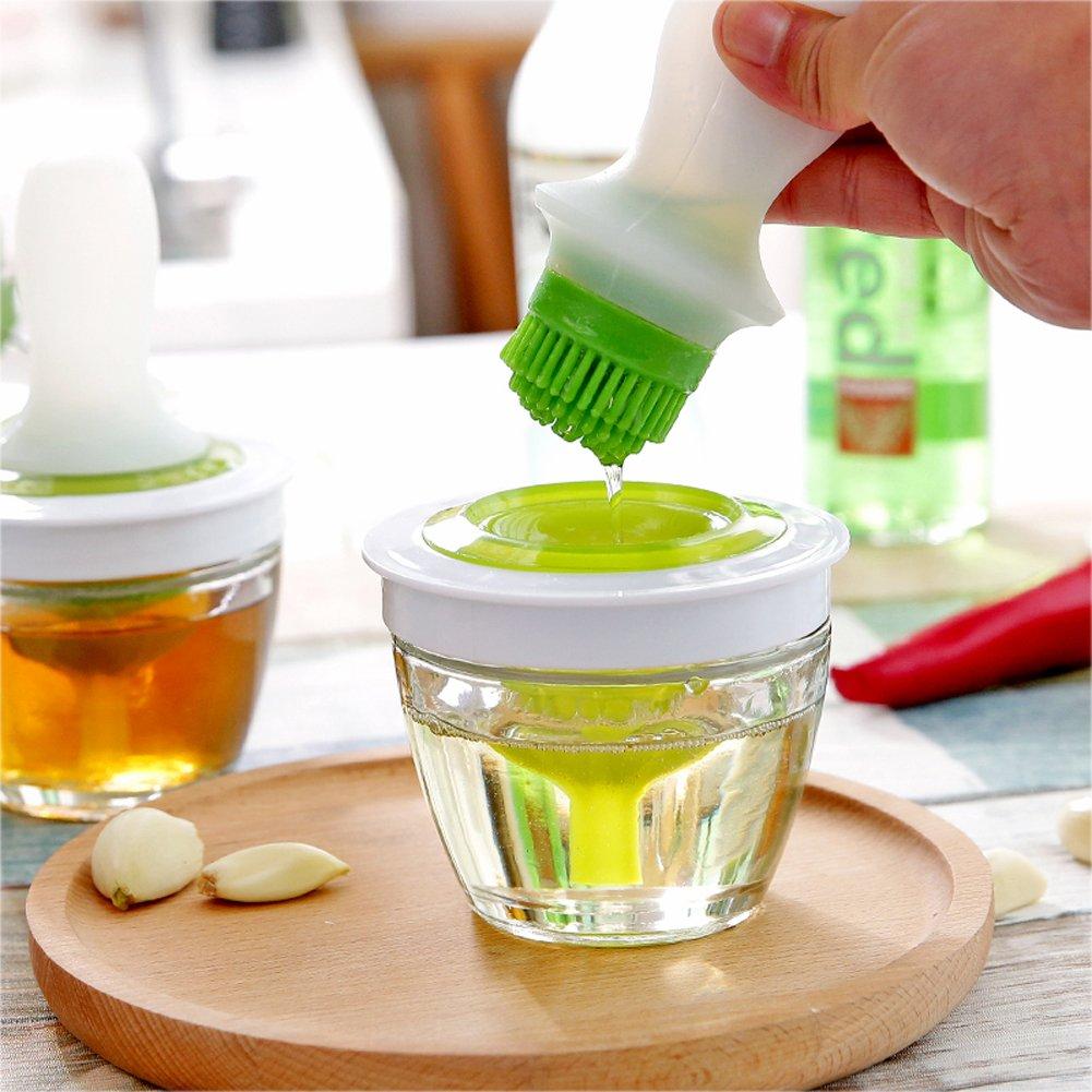 deardo pincel de aceite de silicona Set Utensilios de cocina del Chef Turquía jeringa de cocina para cocinar barbacoa repostería miel de hornear y asar: ...