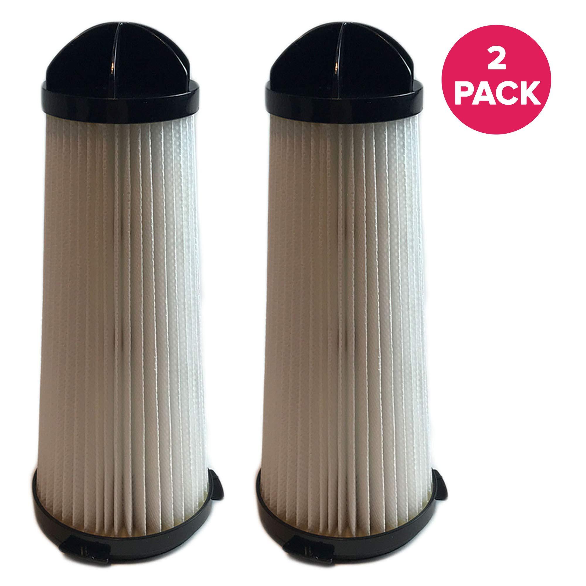 Crucial Vacuum Replacement Vacuum Filter Compatible With Hoover Backpack Vac & Shoulder Vac - Pair with HEPA Style Part 2KE2110000, 2-KE2110000, 2- KE2110-000, 7.5'' x 3.1'' x 3.1'' - Bulk (2 Pack) by Crucial Vacuum