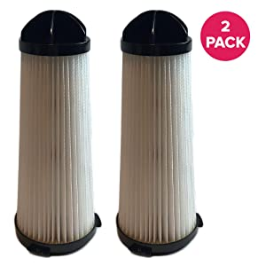 "Think Crucial Replacement Compatible with Hoover Air Filter Parts - 7.5"" x 3.1"" x 3.1""Pair with Hepa Style Filters Part 2KE2110000, 2-KE2110000, 2- KE2110-000 for Purified, Healthier Air Bulk 2 Pack"