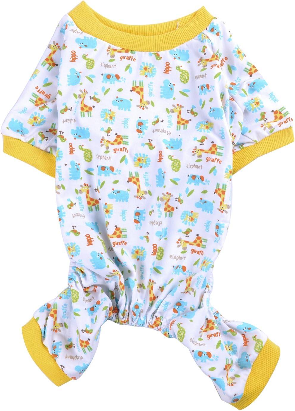 Woo Woo Pets Animal Soft Coats Pajamas review